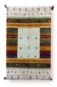 民族系絨毯 ギャッベ