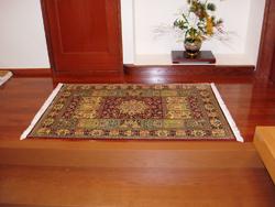 ペルシャ絨毯 お客様 使用事例