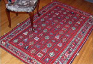 民族系絨毯 バルーチ